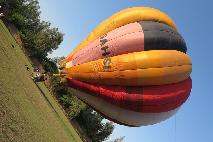 Gateway International School organised experience dawn & Dusk with the stars in the sky Hot Air Balloon Ride.
