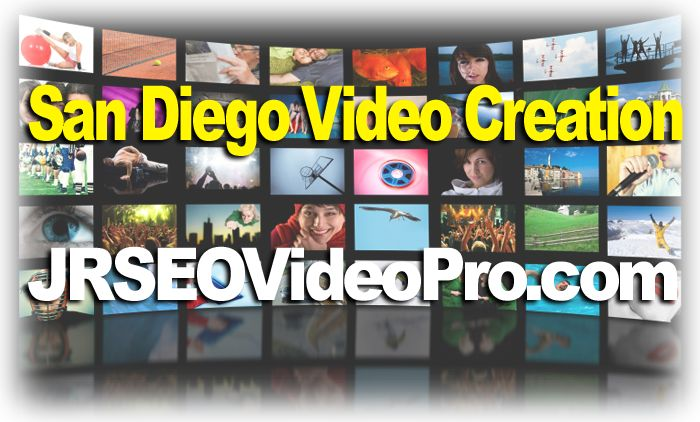 San Diego Video Creation Services - http://www.jrseovideopro.com/san-diego-video-creation