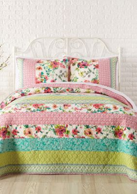 Jessica Simpson  Boho Garden Quilt Collection