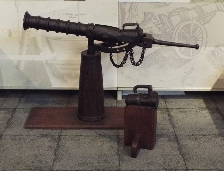 English Wrought Iron Peterara 15th or 16th Century Firepower Museum