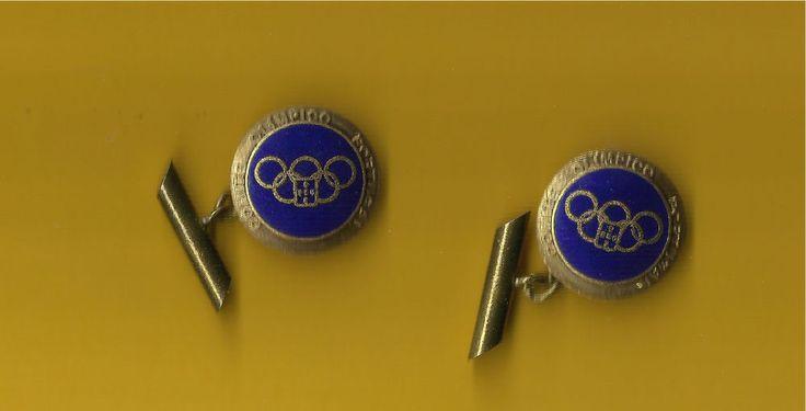 ☆ Olympics ☆ Portugal Team ☆ Vintage Cufflinks Gold Tone | eBay