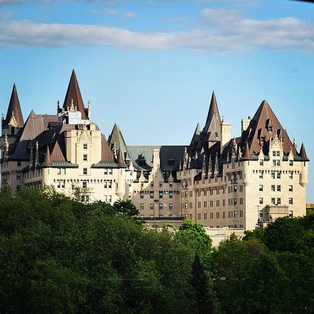 Fairmont Chateau Laurier, Ottawa, Ontario - A castle in Canada's...