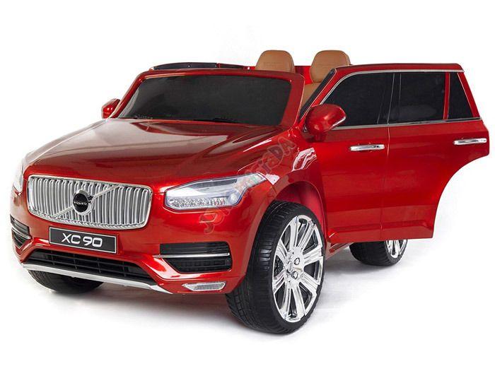 Hračky | Elektrická auta | elektrické autíčko Volvo XC 90 červené | Bábätkovo.eu
