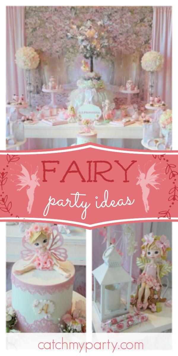 Fairy Birthday Magic Fairy Birthday Party Catch My Party Fairy Birthday Girls Birthday Party Themes Fairy Parties