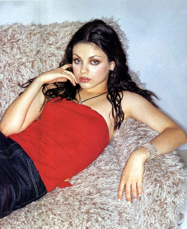 Mila Kunis   Lovely young Mila... Posing for Transworld Stance Magazine  ( 2000 )  V. Cavataio photoshoot ( shared to groups 6/11/17 )