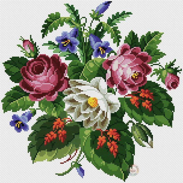 Gallery.ru / Фото #4 - 169 - kento / antyczne róże i czerwone liście 1/6