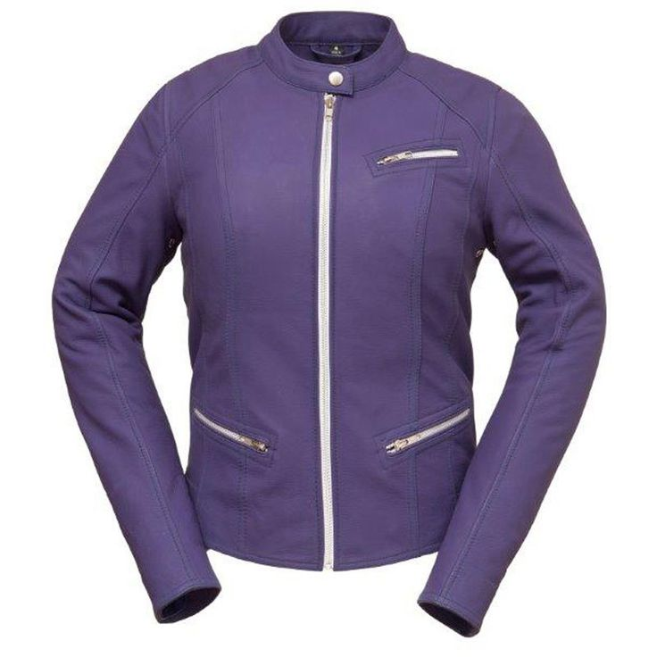 First Classics First Fashionista Ladies Scooter Jacket Purple