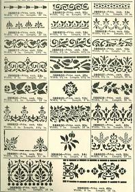 Laurelhurst 1912 Craftsman: 1910s Stencil Designs