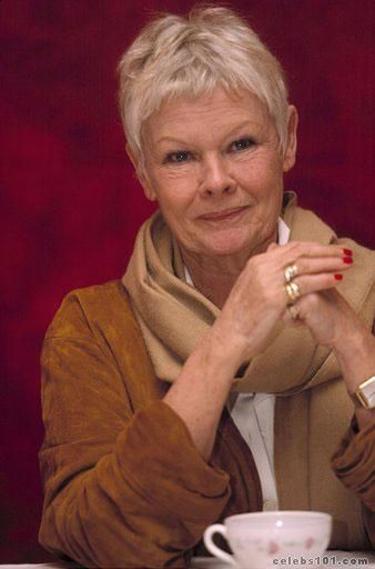 Dame Judi Dench: in the movie Pride & Prejudice, she looked like my mother in a few shots!!! So beautiful!