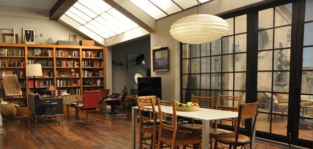 Neal Caffrey's Fabulous New York Apartment Set | White Collar - Lauren Fitzsimmons, set designer