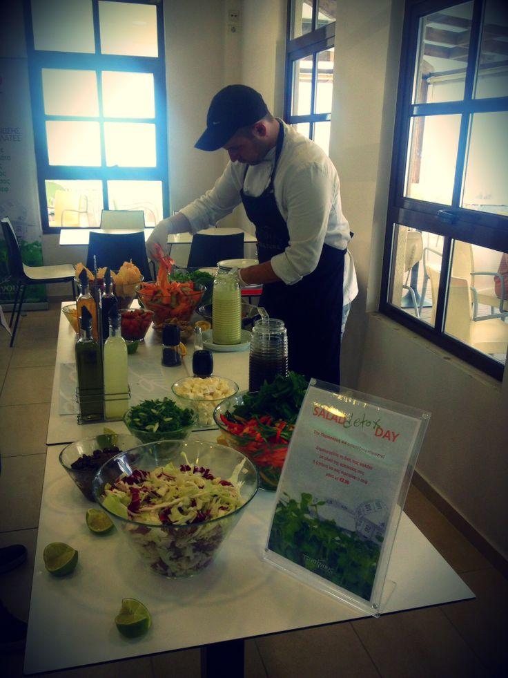 Salad Detox Day @ Cosmote