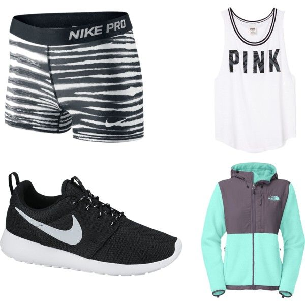 Running / cheer practice outfit. Very simple