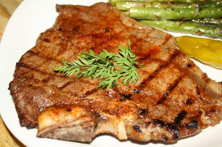 Grilled T-Bone Steaks | Genius Kitchen