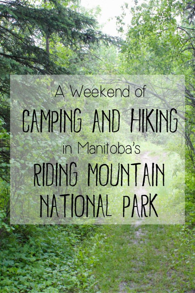 A Weekend of Camping and Hiking in Manitoba's Riding Mountain National Park -> Are you an outdoor enthusiast, hiker, or nature lover planning a trip to Manitoba, Canada? Check out my detailed guide to this beautiful national park with gorgeous natural scenery, beautiful lakes, an abundance of wildlife and lots of fantastic hiking trails ranging from short and easy hikes to challenging multi-day treks. Riding Mountain National Park is an amazing place to spend time camping and hiking!