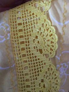 Resultado de imagen de muestras de bordes a crochet