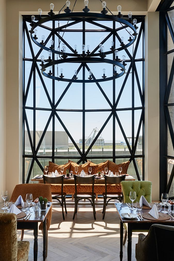 A former grain elevator is reborn as luxury lodgings at the Silo Hotel in Cape Town, Africa