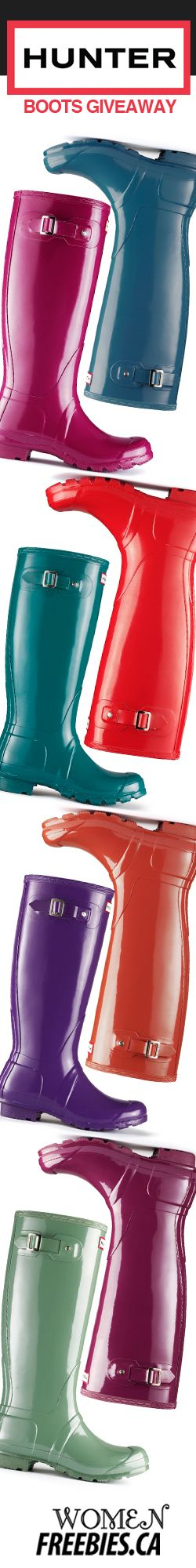 #Win a Pair of #HunterBoots from #WomenFreebies #Fashion #Hunter #Boots