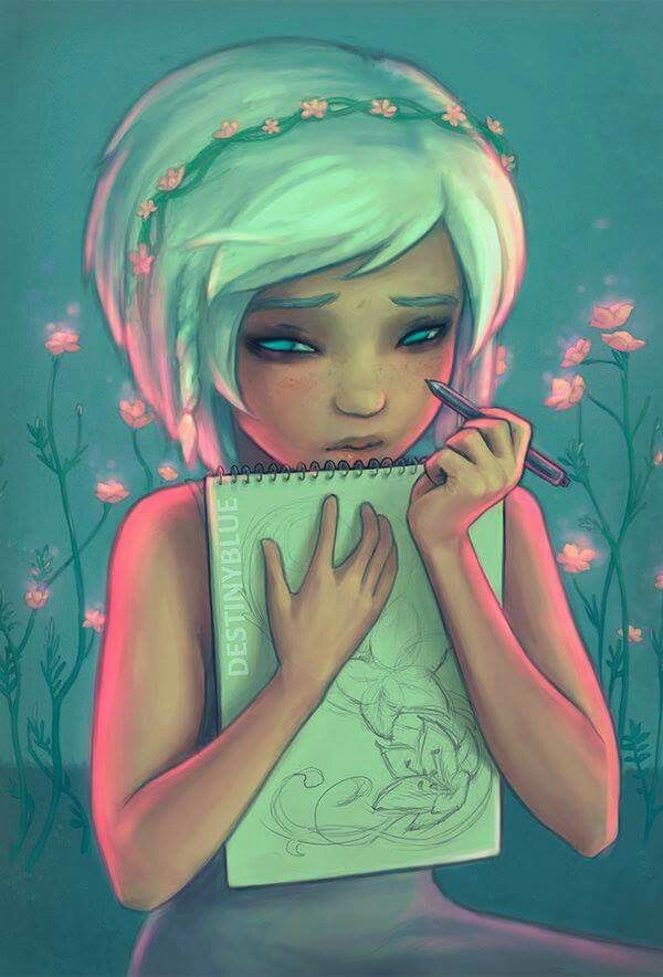 Facebook: Meaningful Digital Paintings by Artist DestinyBlue!