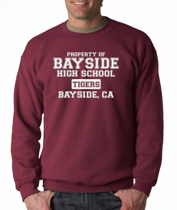 Bayside High School Crew Neck Sweatshirt