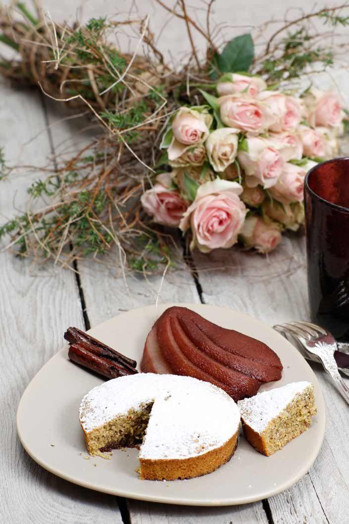Torta noci e pere  | La Casetta delle Pesche