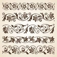 Image result for downloadable A4 borders leaves vines