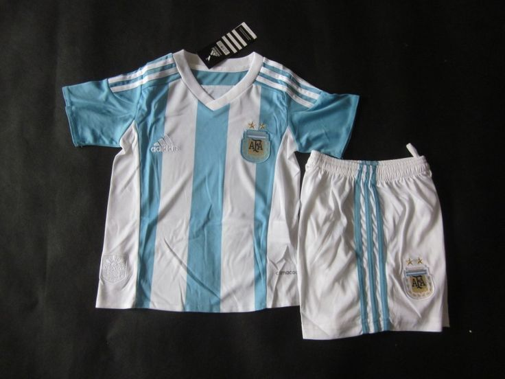 Argentina 2015 Kids Home Uniform