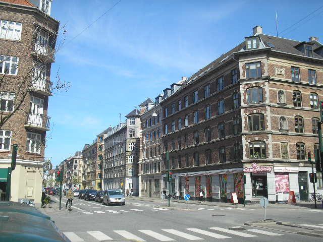 A main street, western cph