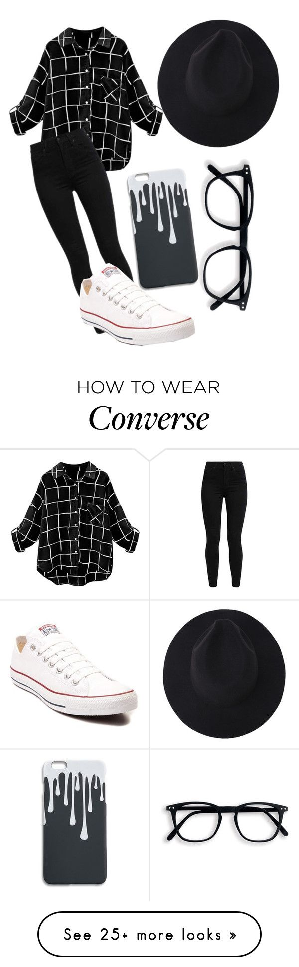 """Untitled #857"" by mriss-abbrie on Polyvore featuring Levi's and Converse"