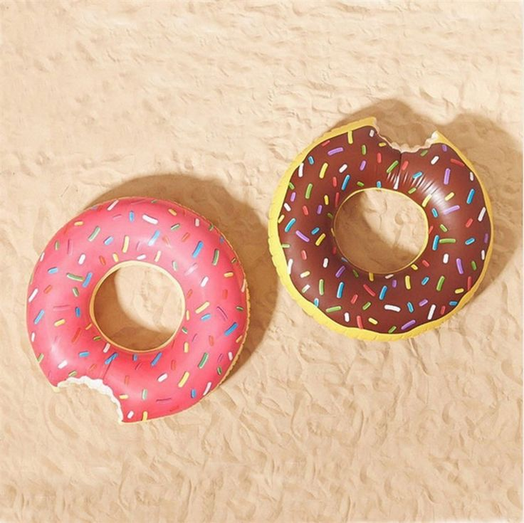 Our Oversized life like donut pool floats are the new rage in swimming accessories this season!  Adults and kids alike love having these fun novelty floats at the pool, lakes, and ocean.