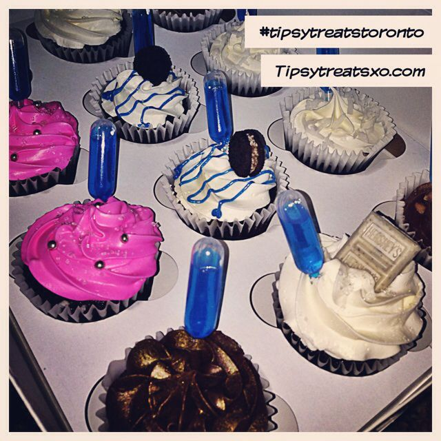 Alcohol infused cupcake treats. Also doing chocolate covered strawberries. Visit tipsytreatsxo.com #tipsytreatstoronto