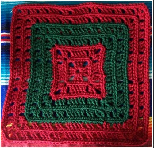 ... Square CAL on Pinterest Afghan crochet, Stitches and Tight braids