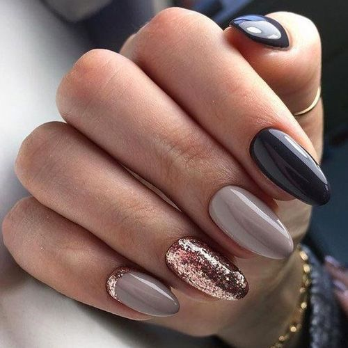 50 Must Have Fall Nails For 2018 2019 Her Blonde Moments Manicura De U 241 As U 241 As Lila U 241 As