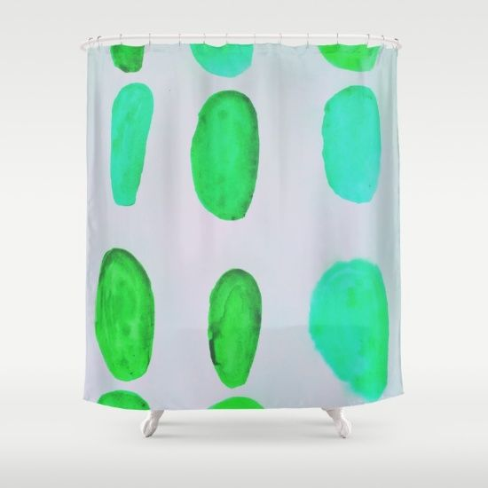Color Test II Shower Curtain