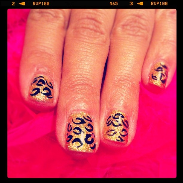 How To Make Nail Polish Not Chip: 80 Best Leopard Print Obsession Images On Pinterest