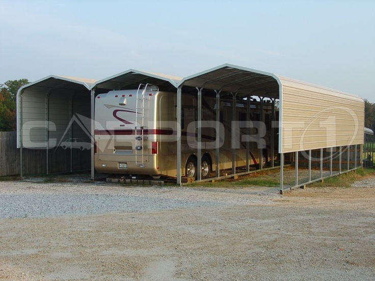 Vehicle Storage Shelter : Best rv carports shelters motor home covers images