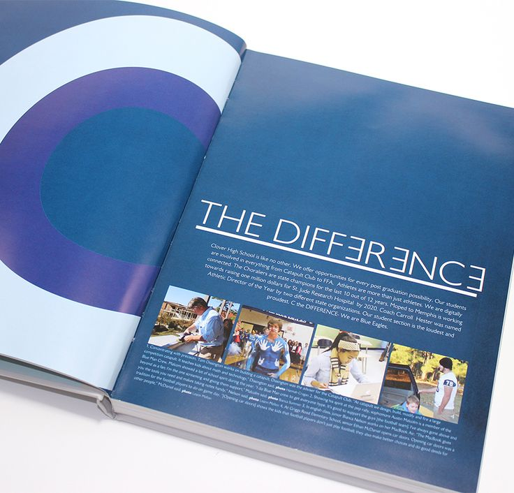 Clover High School (Clover, SC) | 2015 Yearbook Opening Spread | Printed by Herff Jones