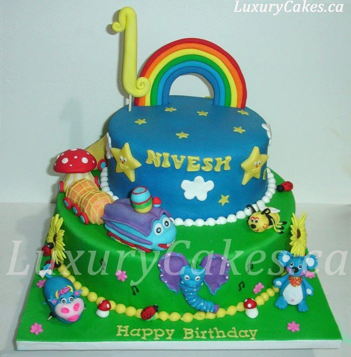 32 Over The Top First Birthday Cakes: 118 Best Images About The GiggleBellies Birthday Cakes On