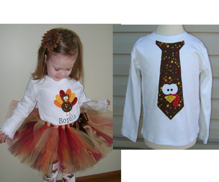 Etsy Thanksgiving Tutus Brother Sister Matching Turkey