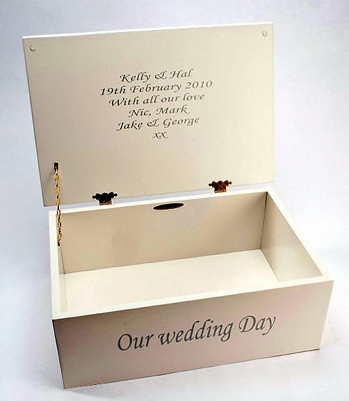 Personalised Photo Wedding Keepsake Box By Picture Proud Gifts Notonthehighstreet