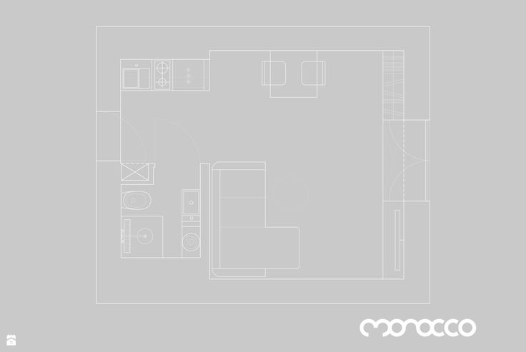 Salon styl Minimalistyczny - zdjęcie od Studio Monocco - Salon - Styl Minimalistyczny - Studio Monocco