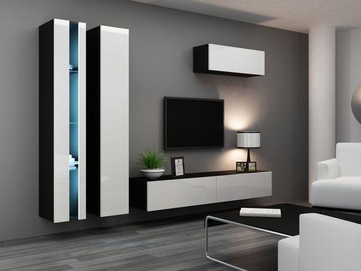 Best тв зона Images On Pinterest Tv Stands Tv Cabinets And TV - Tv wall units ebay