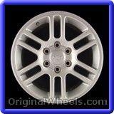 Chevrolet Colorado 2008 Wheels & Rims Hollander #5228A #Chevrolet #Colorado #ChevroletColorado #2008 #Wheels #Rims #Stock #Factory #Original #OEM #OE #Steel #Alloy #Used