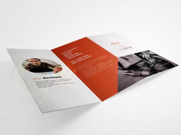Check out Product Shoes Woman Trifold Brochure by Calwin on Creative Market