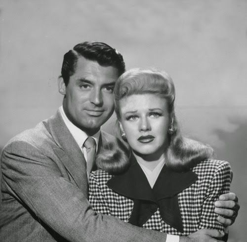 "Vintage Glamour Girls: Ginger Rogers & Cary Grant in "" Once Upon a Honeym..."