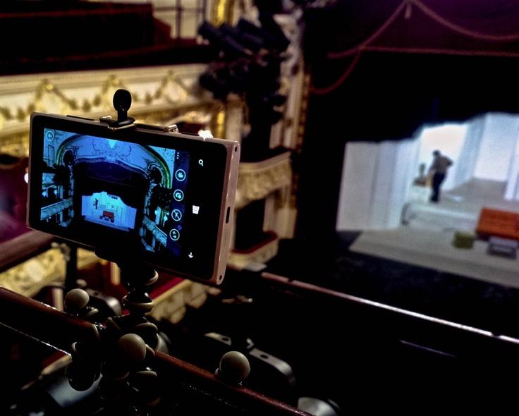 Teatrul Regina Maria prin Lumia 920