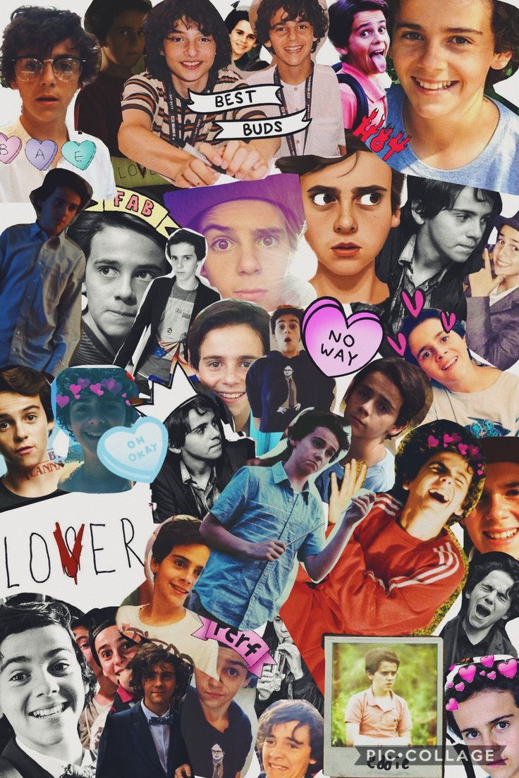 Like can somebody do a collage of Wyatt Oleff Dylan