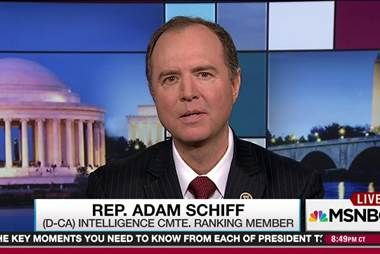 Schiff seeks Trump dossier author testimony  03/07/17 09:44PM