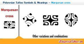 polynesian symbols and their meanings   Sample showing the Polynesian Marquesan cross symbol and its ... #marquesantattoospatterns