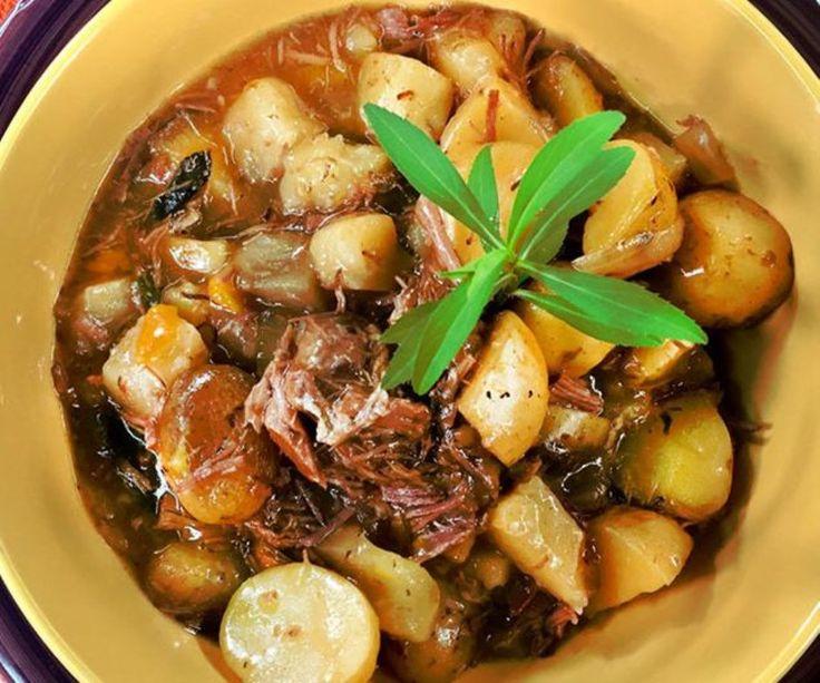 Receta: Carnita en salsa con verduras - Rafael Calderón - Preparado Por - Recetas - Estilo de Vida | Teletica