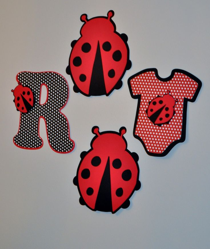 ladybug baby shower decorartions creations ladybug hanging decorations - Ladybug Baby Shower Decorations